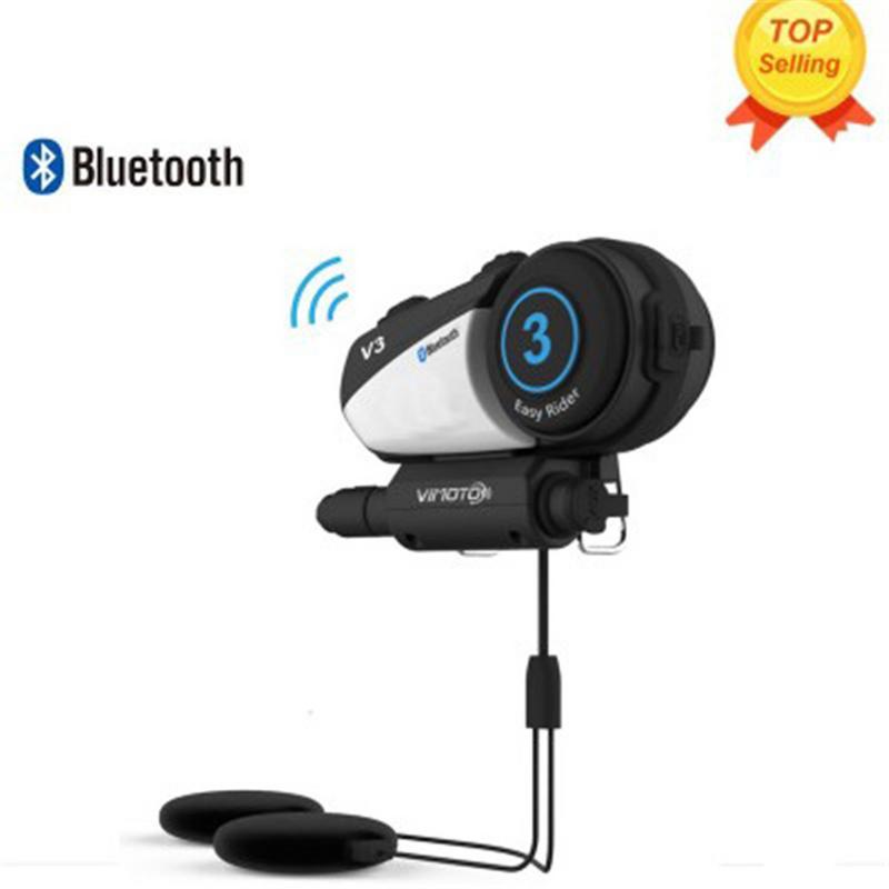 Casque moto casque Bluetooth casque sans fil systèmes de Communication extérieur voyage casque sans fil accessoires Heaphones