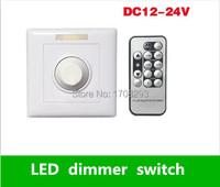 2 pieces/lot LED Dimmer switch From1W to 300W Lights Manually and IR remote Rotary Switches AC110V 220V 230V