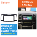 Seicane двойной Din 202*102 мм  комплект установки обшивки автомобильной стерео рамы для Toyota Allion 240 Dash CD  аудио крышка  рамка