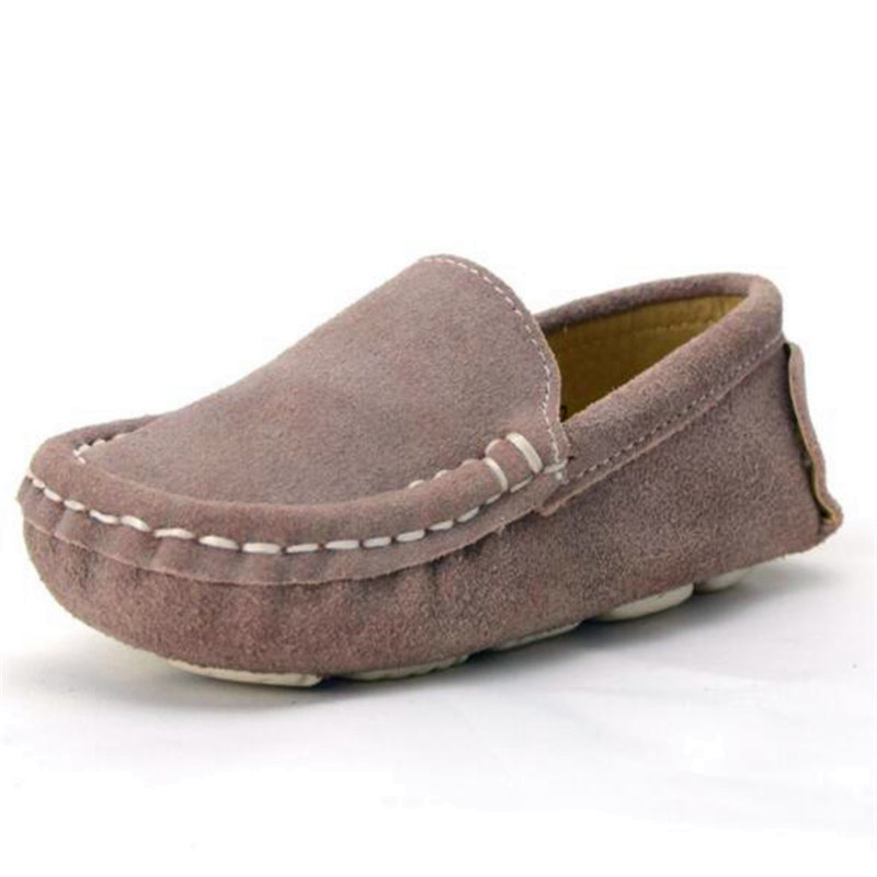 New Baby Toddler Girls PU Suede Moccasin Slip On Loafers Comfortable Shoes