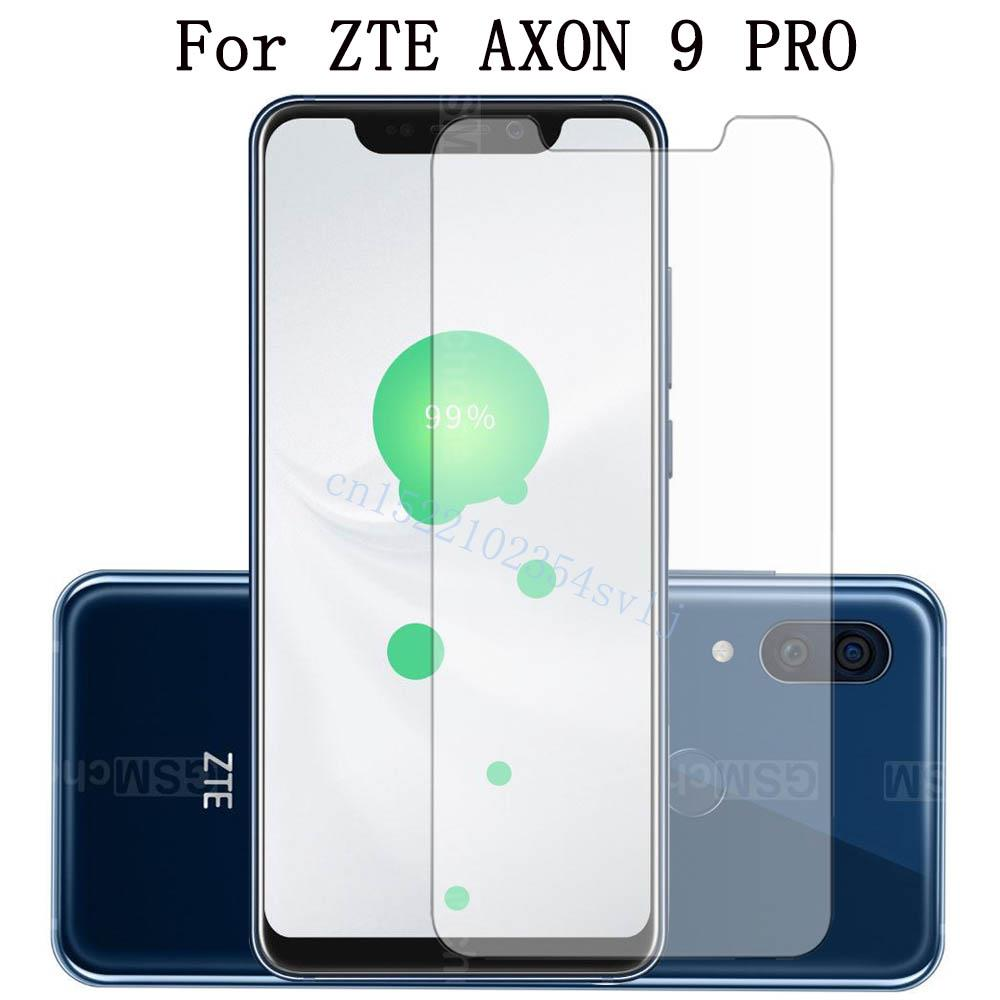 Tempered Glass For ZTE Axon 9 Pro Screen Protector Toughened Protective Glass Film For ZTE Axon 9 PRO
