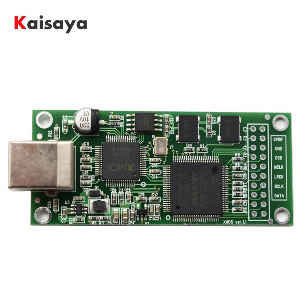 Crystal Upgrade XMOS XU208 DAC + Cpld Card USB Digital Interface I2S DSD Output For AK4497 ES9018 ES9028 ES9038 Decoder E4-007