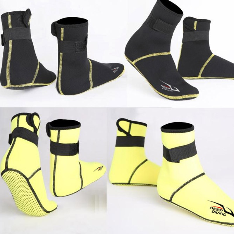 Anti Scratches Neoprene Snorkeling Scuba Diving Shoes Socks Beach Boots Wetsuit Warming Anti Slip Swimwear Diving Socks