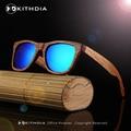 2017 Nuevos Productos CALIENTES Mujeres de Los Hombres gafas de Sol De Bambú gafas de Sol Polarizadas HD au Retro Vintage Lente De Madera Hechos A Mano Marco De Madera