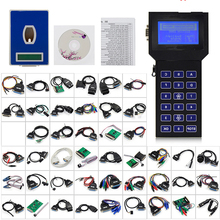 Professional Tacho Pro 2008 July Universal Dash Programmer UNLOCK Backlit display Car mileage meter Odometer Programmer Full Set hot newest digiprog iii v4 94 digiprog 3 with full set cables mileage odometer correction tool digiprog3 mileage correct tool