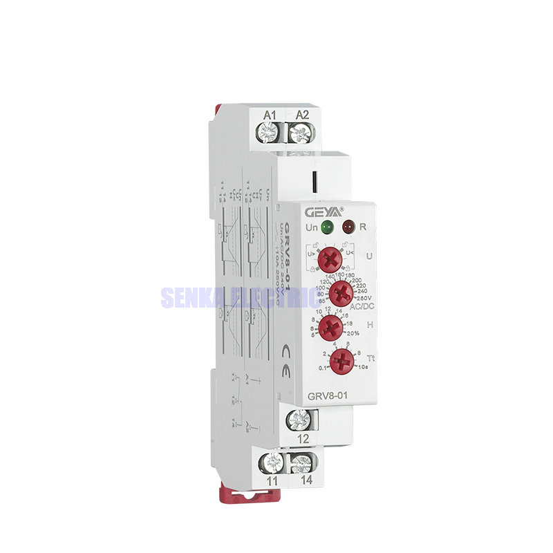 Overvoltage Undervoltage Protection Relay Auto / Select Operation Through Knob Monitoring Voltage Relay цена