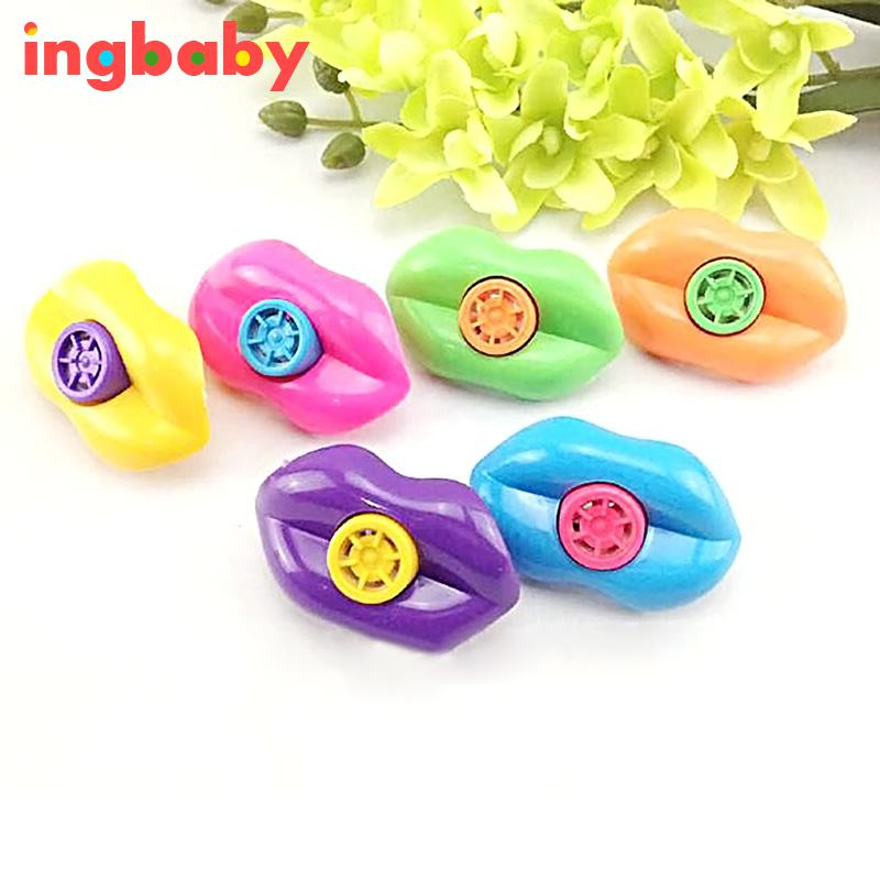 15 Stücke Farbige Lippen Form Kunststoff Pfeifen Kind Puzzle Whistle Toy Party Whistle Toy Geschenk Kleines Spielzeug Geben Verschiffen Frei Lmy199 Ingbaby