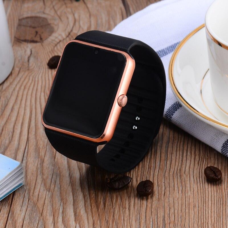imágenes para Precios baratos GT08 Bluetooth pantalla Táctil reloj Inteligente relojes inteligentes Tarjeta de la ayuda SIM smartwatch para Android y IOS