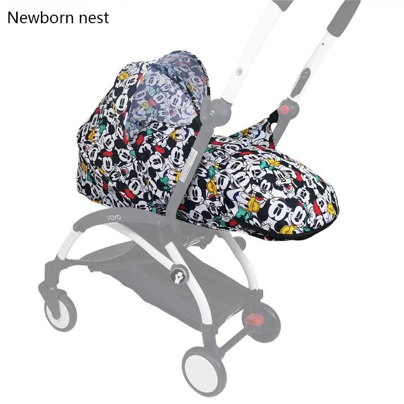 Baby Carriages Birth Nest Newborn For Babyzen Yoyo+ Yoya Babytime Prams Basket Stroller Accessories Winter Sleeping Bag