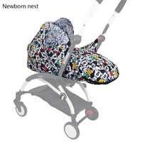 Carrinho de bebê recém-nascido para babyzen yoyo + yoya babytime carrinhos cesta carrinho de criança acessórios inverno saco de dormir