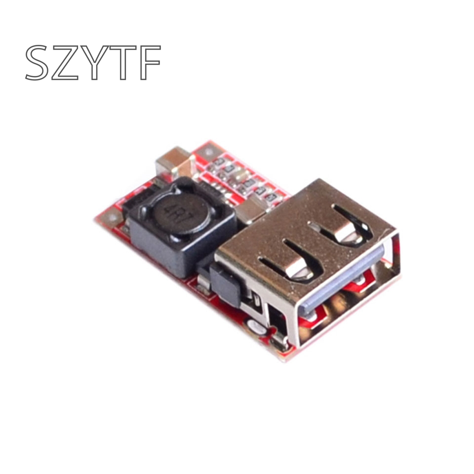 6-24V 12 V/24 V zu 5V 3A AUTO USB Ladegerät Modul DC Buck schritt unten Konverter