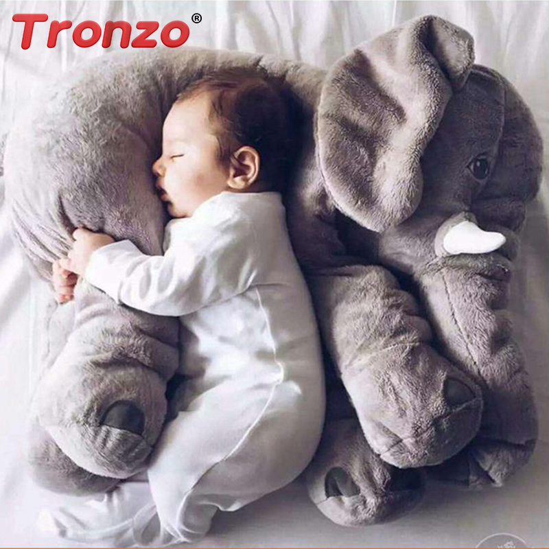 Stuffed e Plush Animais tronzo 5 cores 40 cm Tipo : Almofada/travesseiro