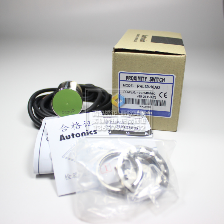 [Original authentic] Autonics proximity switch PRL30-10AO extended three-line NPN normally open[Original authentic] Autonics proximity switch PRL30-10AO extended three-line NPN normally open
