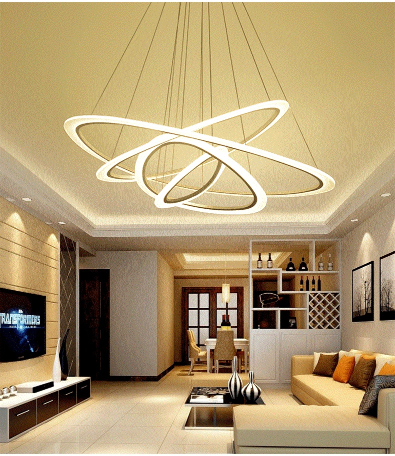 new arrived Modern ceiling lights for living room Bedroom hallway home ceiling lamp  acrylic body LED pendant ceiling Lamp