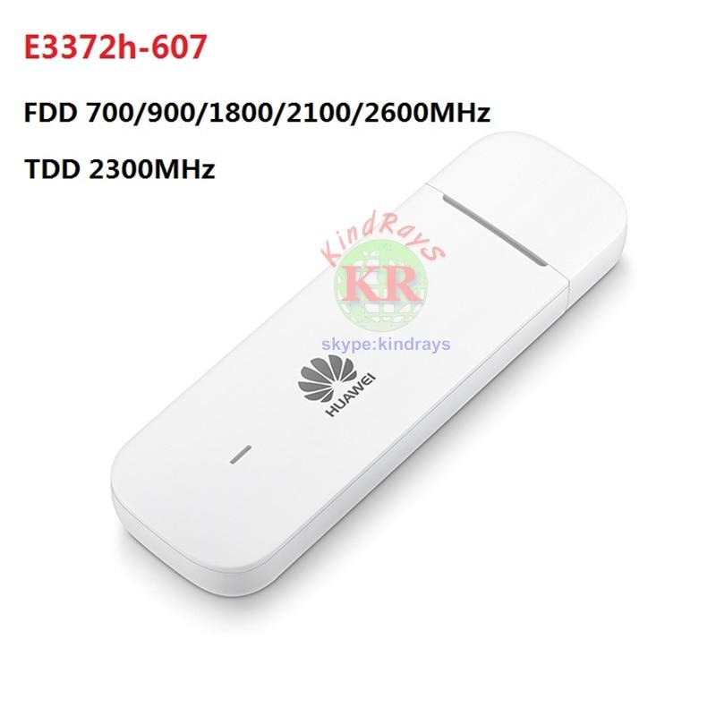Unlocked Huawei E3372 E3372h-607 4G LTE 150Mbps USB Modem 4G LTE USB Dongle USB Stick Datacard PK e3276 e8372 e398 e5776 все цены