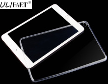 купить ULIFART TPU SILICONE COVER FOR APPLE IPAD MINI 1/2 RETINA / MINI 3 SOFT Clear Transparent  Case Back Cover Tablet Case дешево