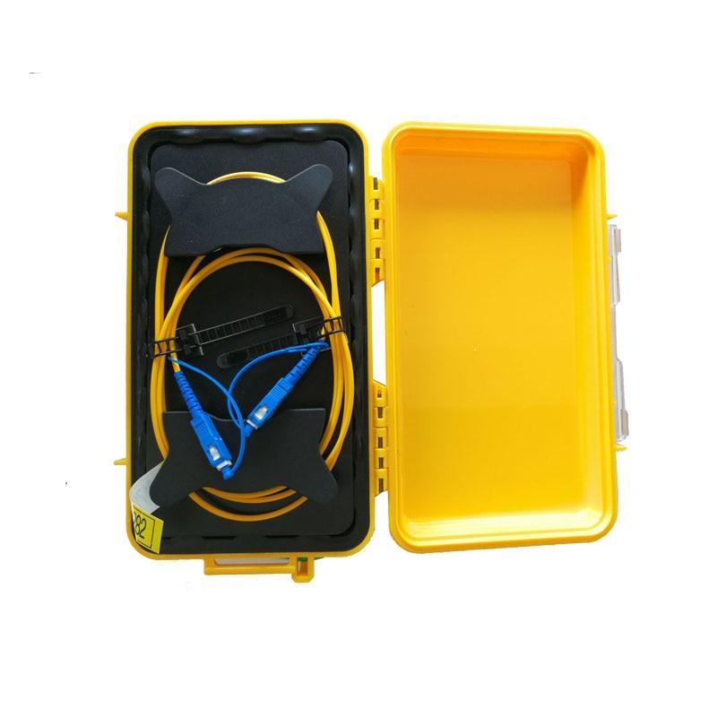 SC UPC Single Mode 9/125um 1310/1550nm 500M OTDR launch cable box, Fiber ring otdr launch cable,Fiber optic launch cable