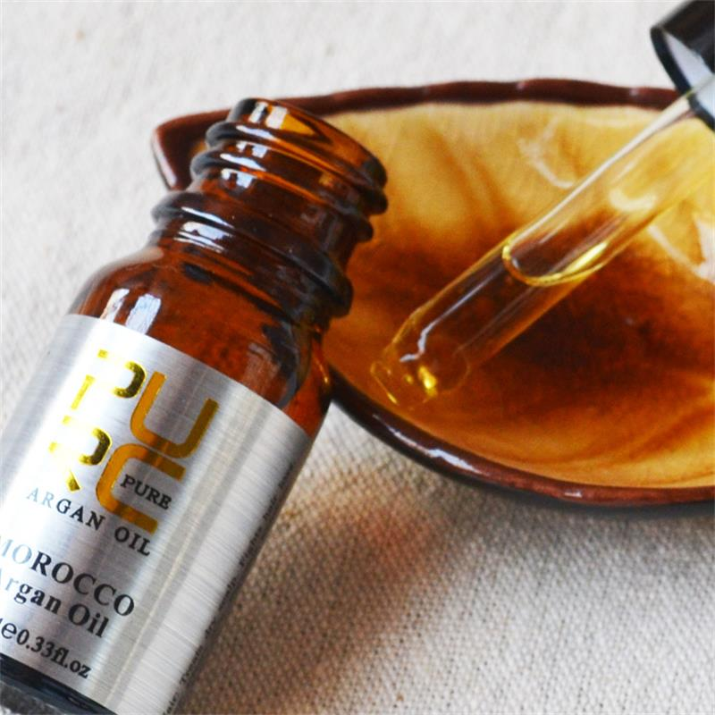 2 Pcs/lot PURC Moroccan Argan Hair Care Essential Oil For Repair Treatment Damaged Frizz Dry Hair Make Hair Smoothing