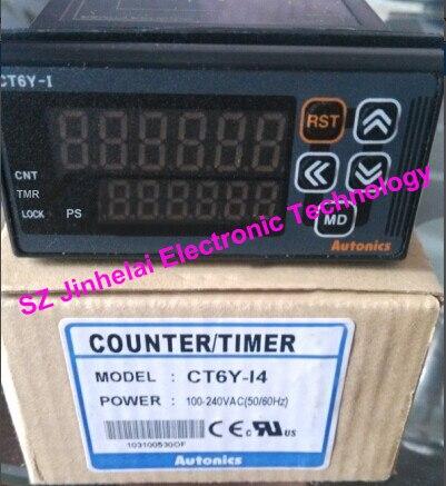 100% nouveau et original CT6Y-I4 CT6Y-14 Autonics compte relais 100-240VAC compteur/minuterie100% nouveau et original CT6Y-I4 CT6Y-14 Autonics compte relais 100-240VAC compteur/minuterie