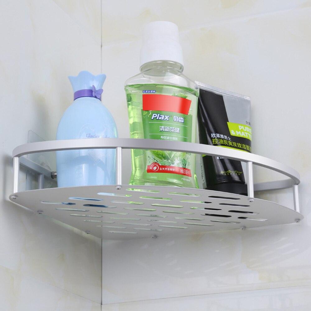 Permalink to Punching Bathroom Shelf Toilet Bathroom Vanity Tripod Storage Rack Suction Cup Wall Hanging Bathroom