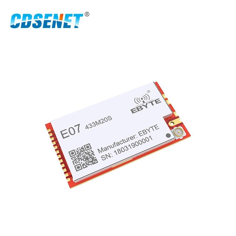 CC1101 433 MHz 100mW rf модуль 20dBm CDSENET E07-433M20S дальний SMD PA приемопередатчик 433 MHz IPEX передатчик и приемник
