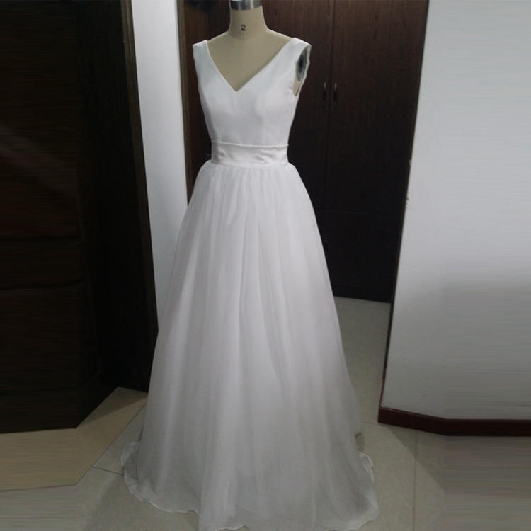 Compare prices on wedding dresses casual online shopping for Simple casual wedding dresses