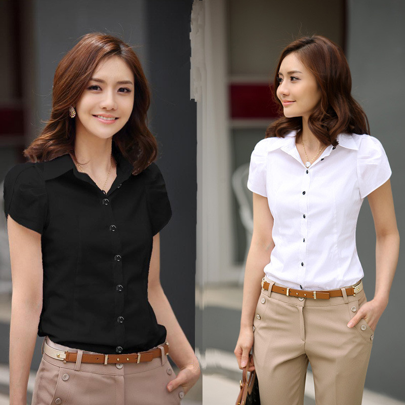 2016 new contracted fashion womens shirts elegant ol
