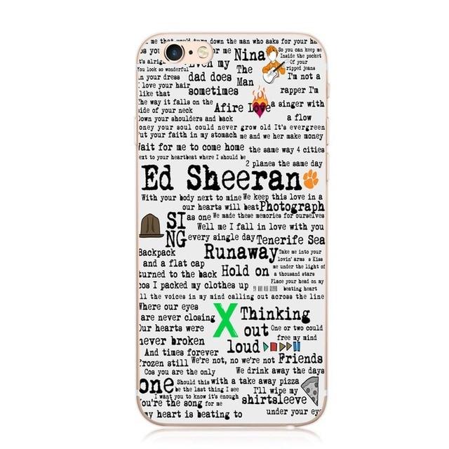 coque ed sheeran iphone 6