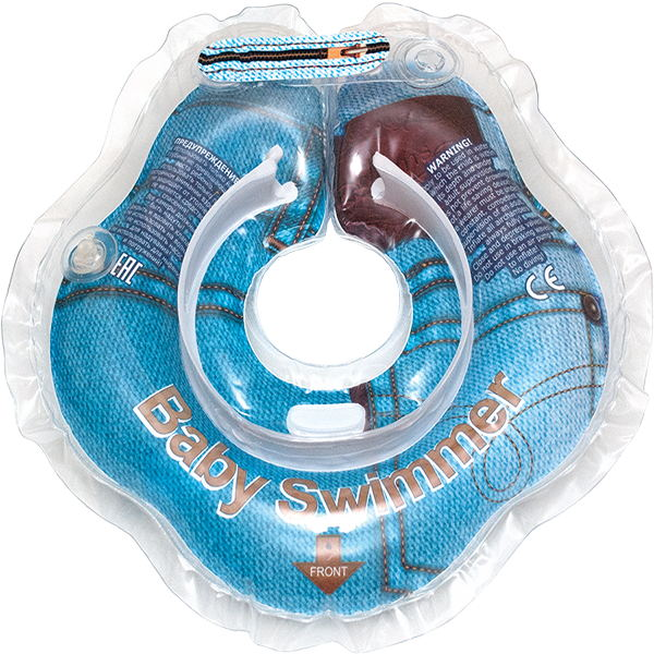 Children's neck swimming ring Baby Swimmer BS01D inflatable children swimming ring seat pool floating boat