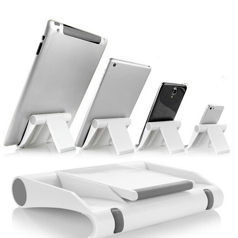 Portable Tablet PC Stand Foldable Phone holder Universal Adjustable Smartphone Tablet Holder for iphone5 6S 7 8 Samsung S7 J35-in Phone Holders & Stands from Cellphones & Telecommunications
