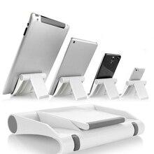 Przenośny Tablet PC stojak składany uchwyt telefonu uniwersalny regulowany uchwyt tabletu Smartphone dla iphone5 6S 7 8 Samsung S7 J35