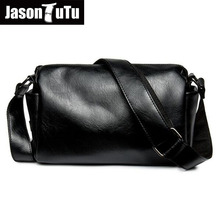 JASON TUTU promotions men shoulder bags,Leisure travel Black