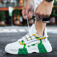 2019 Fashion Height Increasing Men Casual Shoes Hot Sale Dad Men sneakers 2019 breathable Men Chunky Sneakers zapatos hombre