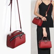 купить Hot Fashion Genuine Leather Women Handbags Ladies Hand Bags Casual Shoulder Bag Messenger Crossbody Bags For Women 2019 New Sac по цене 1913.23 рублей