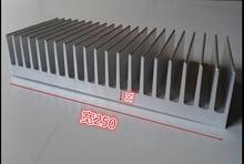 Schiff EMS hochwertigen aluminium-kühler, aluminium kühlkörper breite 250mm, hohe 40mm, länge 300mm benutzerdefinierte Kühlkörper 300*250*40mm Kühler