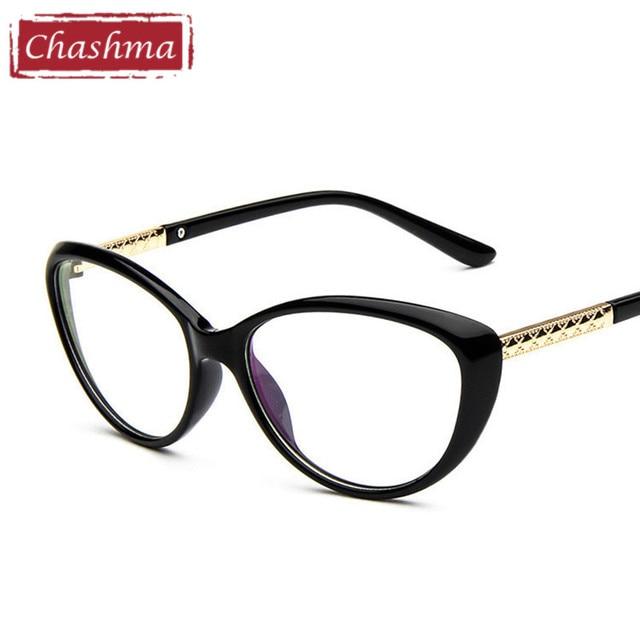 Chashma Women Cat Eyes Black Glasses Stylish Eyewear Eyeglasses ...