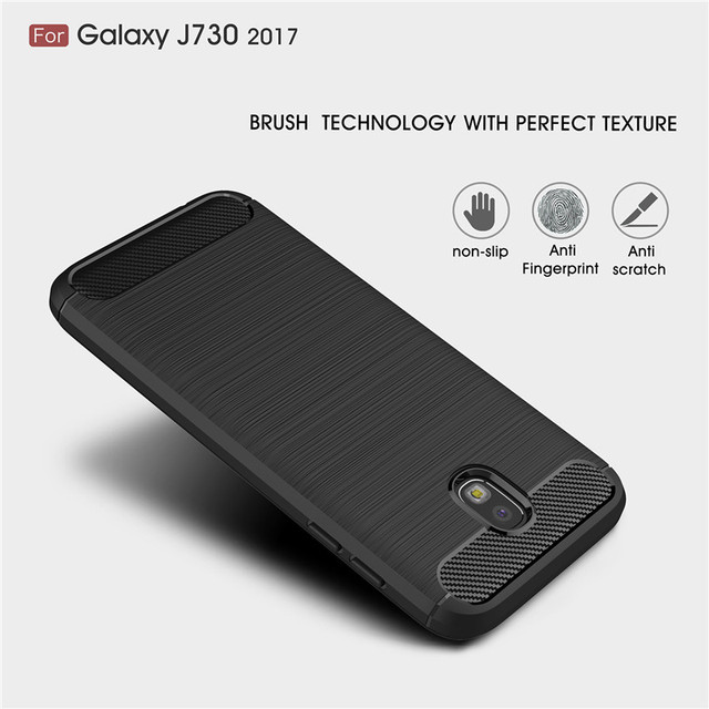 For Samsung Galaxy J7 2017 Case J3 J5 2017 Carbon Fiber Soft Silicone J7 Pro Case For Samsung Galaxy J5 2017 J3 2017 Cases Cover 1