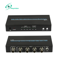 Ultra high resolution 3G HD SD SDI Seamless switcher 4x1 4 in 1 out Supports 300m
