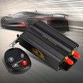 Venta caliente Del GPS Del Coche Sistema de Seguimiento GPS GSM GPRS Vehículo Tracker Localizador TK103B con Mando a distancia SD Tarjeta SIM Anti-robo