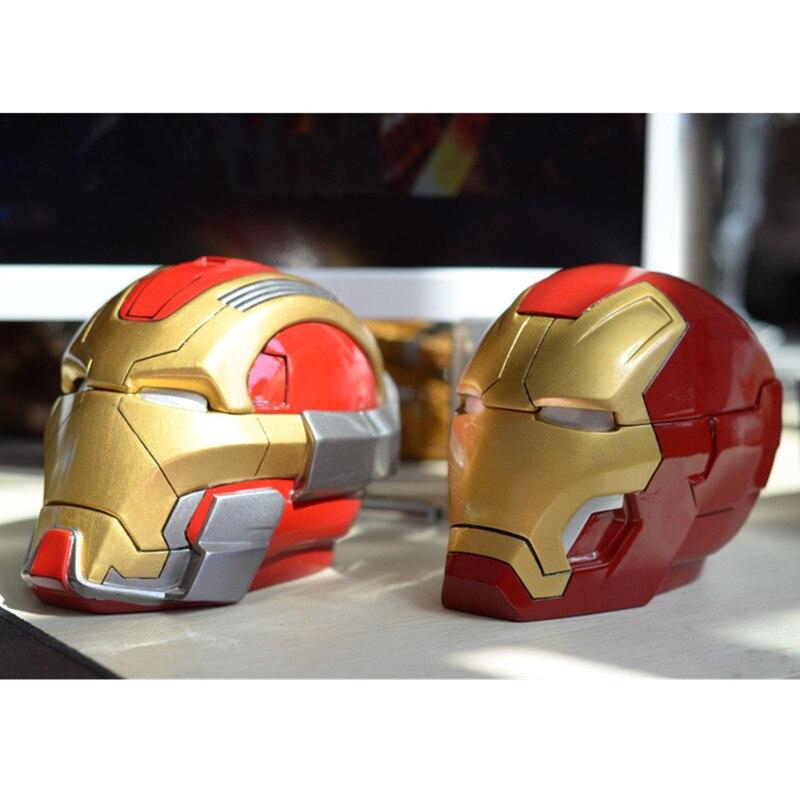Justice League Robert Downey Jr. Tony Stark Anthony Edward Stark Tony Stark Iron Man Ashtray And Piggy Bank Resin Crafts S547