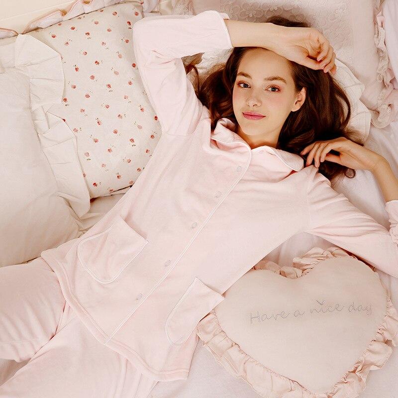 Beige Nuit Pièce Ensemble Femmes Costume 2019 Pyjamas Taille Accueil 2 Pantalons Chaud Couple Flanelle Rose Grande Hiver Velours Automne De SqqUgX4