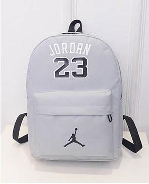 0f3bf998b9 2018 NEW Hot Sale Jordan 23 School Backpack Fashion Star Oxford School Bag  for Girls Boys Couples School bag Gift for Jordan-in School Bags from  Luggage ...