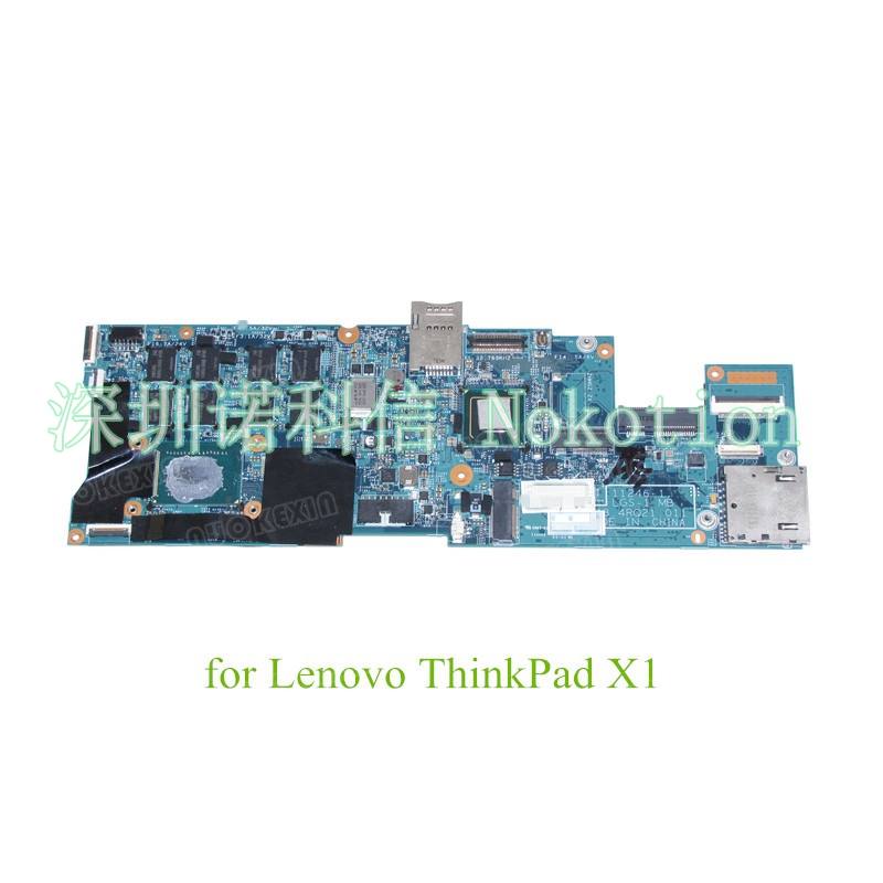 NOKOTION FRU 04Y1730 48.4RQ21.011 for lenovo ThinkPad X1 Carbon Laptop motherboard 4GB Core i5 new original us english keyboard thinkpad edge e420 e420s e425 e320 e325 for lenovo laptop fru 63y0213 04w0800