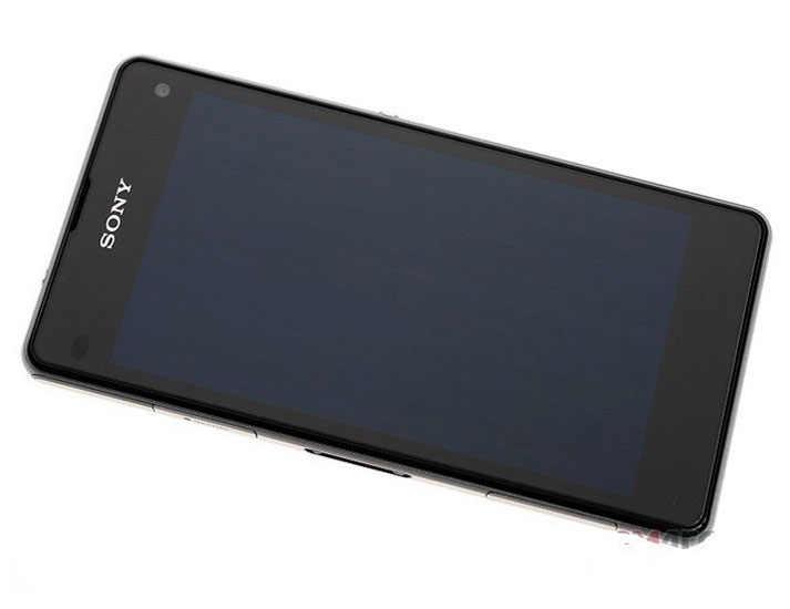 """Оригинальный sony Xperia Z1 Compact D5503 разблокированный 3G/4G Android четырехъядерный 2 Гб ram 4,3 """"20.7MP wifi gps 16 Гб хранения мобильного телефона"""
