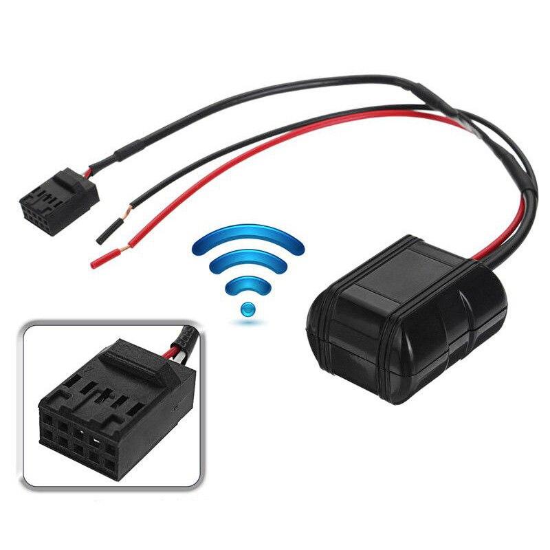 1x Auto Bluetooth Module Radio 12V CD Head Units AUX Adapter Cable 10 Pins Bluetooth Car Kit For BMW E39 E46 E53