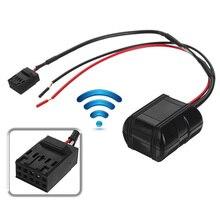 1x Auto Bluetooth Modulo Radio 12 v CD Unità di Testa AUX Cavo Adattatore 10 Spilli Bluetooth Kit Per Auto Per BMW e39 E46 E53
