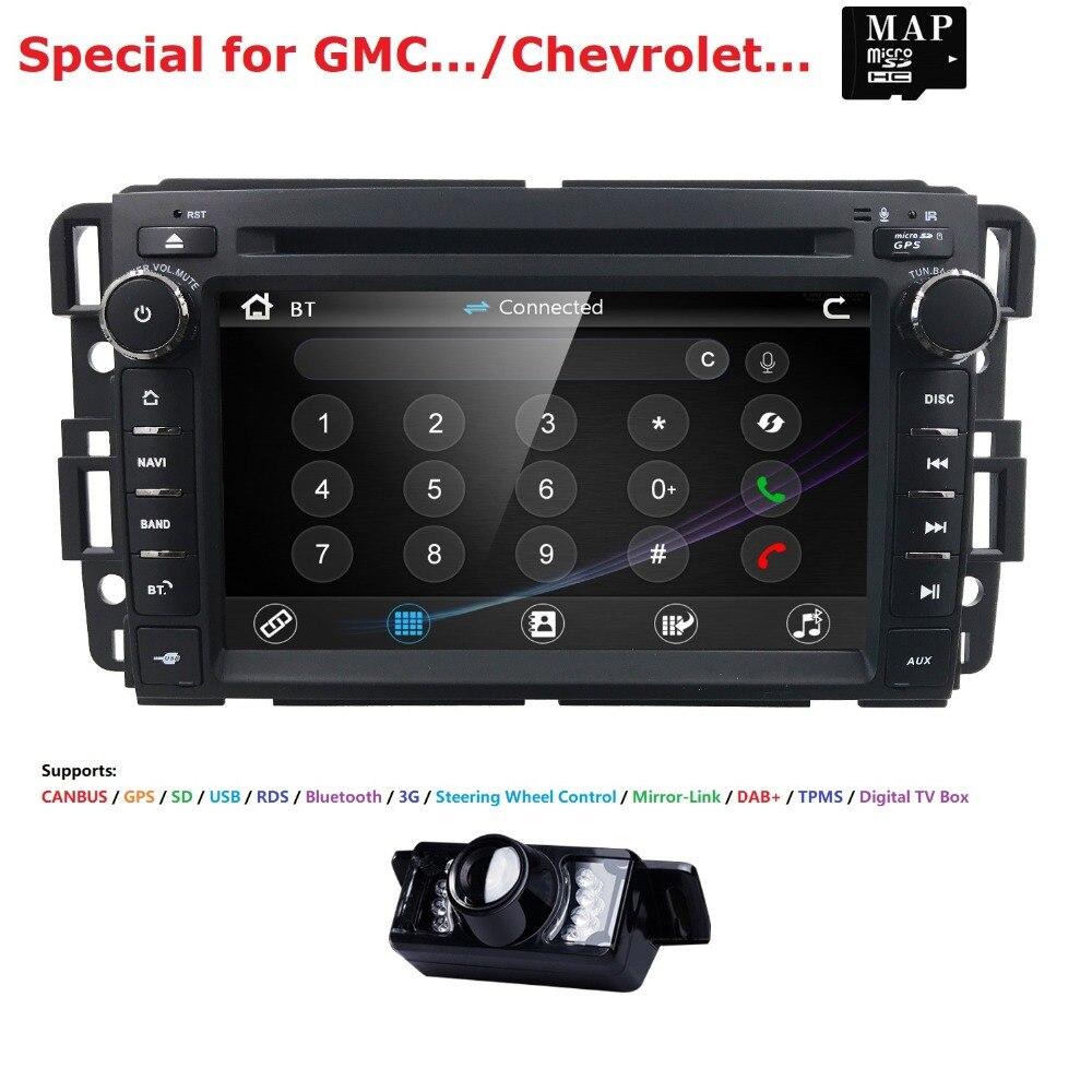 Авто Radio2 автомобильный dvd плейер din для GMC Yukon Denali Acadia Savana Сьерра Chevrolet Express траверс равноденствие BT GPS навигации 3g