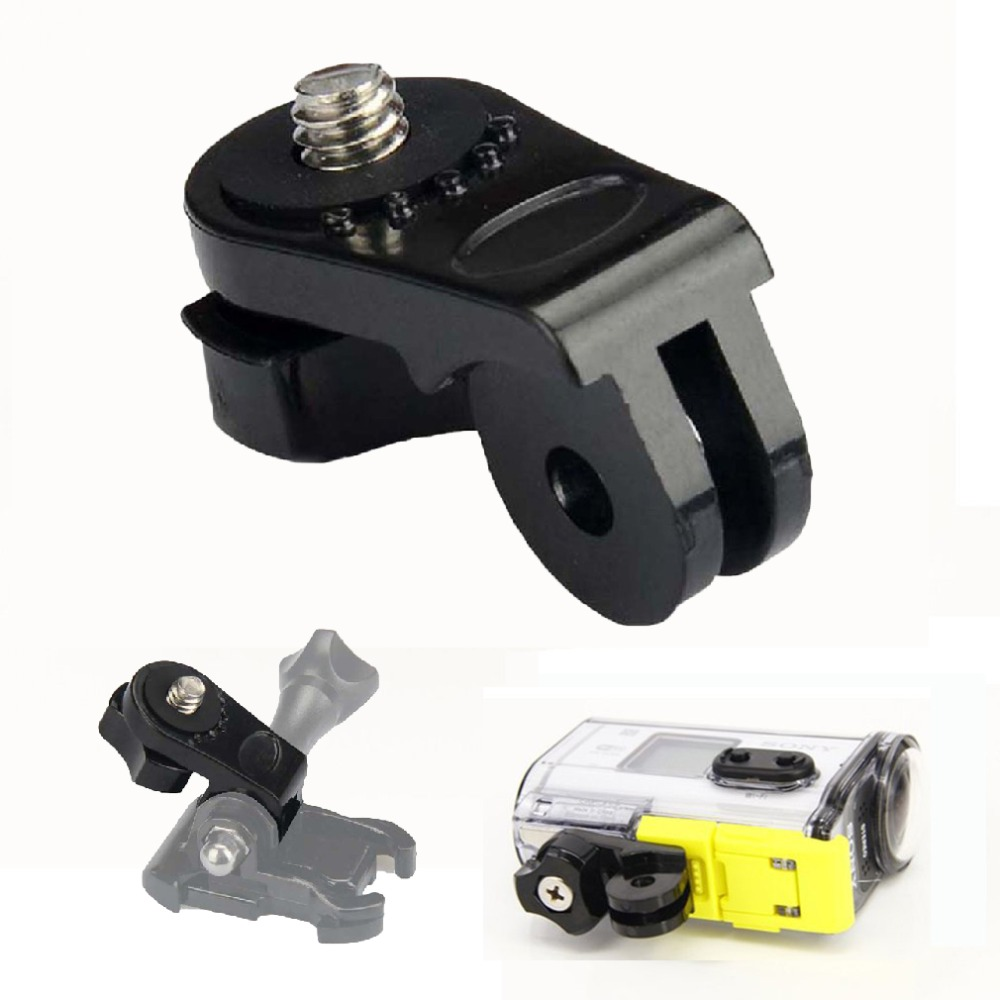 "GoPro mount to 1//4/"" thread //GP60 TRIPOD MOUNT ADAPTER for SONY ACTION CAM"
