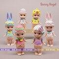 7-8cm 6pcs/lot Japanese anime figure sonny angel Easter Day series action figure set collecitble model toys for girls