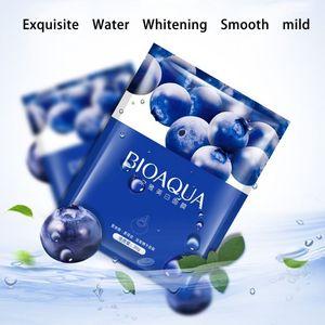 New Arrival Hyaluronic Acid Snails Eggs Aloe Blueberry Facial Mask Sheet Multi-style Whiten Moisturize Oil Control Face M3